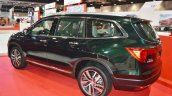 Honda Pilot rear three quarters left side at 2016 Oman Motor Show