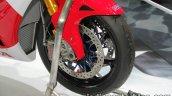 Honda RC213V-S frotn wheel at Thai Motor Expo