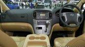 Hyundai H-1 Elite+ interior dashboard at 2016 Thai Motor Expo
