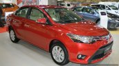 India-bound Toyota Vios front three quarter (pre-facelift)