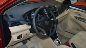 India-bound Toyota Vios interior (pre-facelift)