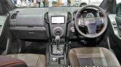 Isuzu D-Max V-Cross interior dashboard at 2016 Thai Motor Expo