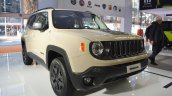 Jeep Renegade Desert Hawk front three quarters at 2016 Bologna Motor Show