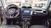 Jeep Renegade Desert Hawk interior dashboard at 2016 Bologna Motor Show