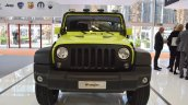 Jeep Wrangler Rubicon with MoparONE pack front at 2016 Bologna Motor Show