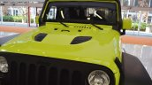 Jeep Wrangler Rubicon with MoparONE pack hood at 2016 Bologna Motor Show