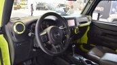 Jeep Wrangler Rubicon with MoparONE pack interior at 2016 Bologna Motor Show