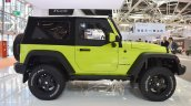 Jeep Wrangler Rubicon with MoparONE pack profile at 2016 Bologna Motor Show
