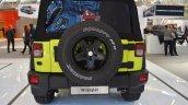 Jeep Wrangler Rubicon with MoparONE pack rear at 2016 Bologna Motor Show