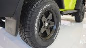Jeep Wrangler Rubicon with MoparONE pack tyre at 2016 Bologna Motor Show