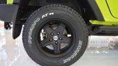 Jeep Wrangler Rubicon with MoparONE pack wheel at 2016 Bologna Motor Show
