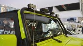 Jeep Wrangler Rubicon with MoparONE pack windshield at 2016 Bologna Motor Show