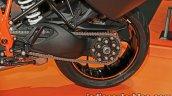 KTM 1290 Super Duke GT rear wheel at Thai Motor Show