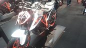 KTM 1290 Super Duke R front three quarter at New York IMS