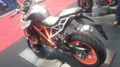 KTM 1290 Super Duke R rear three quarter at New York IMS