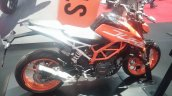 KTM Duke 390 side at New York IMS live