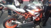 KTM RC 390 side at New York IMS live