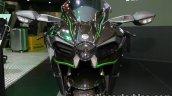 Kawasaki H2 front nose at Thai Motor Expo