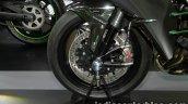 Kawasaki H2 front wheel at Thai Motor Expo
