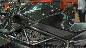 Kawasaki H2 fuel tank at Thai Motor Expo