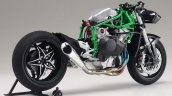 Kawasaki H2R Tamiya scale model rear three quarter