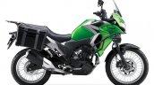 Kawasaki Versys X250 Tourer green side right
