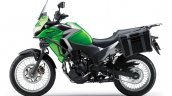 Kawasaki Versys X250 Tourer green side