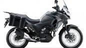 Kawasaki Versys X250 Tourer grey side right