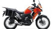 Kawasaki Versys X250 Tourer orange side right