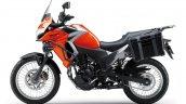 Kawasaki Versys X250 Tourer orange side
