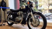 Kawasaki W800 front three quarter at Pune dealership