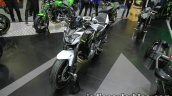Kawasaki Z650 front three quarter left at Thai Motor Expo