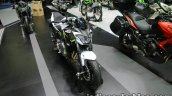 Kawasaki Z650 front three quarter right at Thai Motor Expo