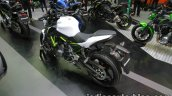 Kawasaki Z650 rear three quarter at Thai Motor Expo