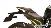Kawaski Ninja 250 rendering tail section