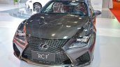 Lexus RC F front at 2016 Oman Motor Show