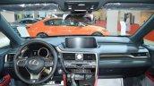 Lexus RX 350 dashboard at 2016 Oman Motor Show