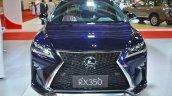 Lexus RX 350 front at 2016 Oman Motor Show
