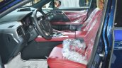 Lexus RX 350 front seats at 2016 Oman Motor Show