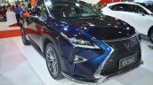 Lexus RX 350 front three quarters at 2016 Oman Motor Show