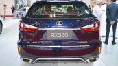 Lexus RX 350 rear at 2016 Oman Motor Show