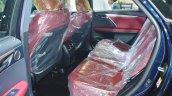 Lexus RX 350 rear seats at 2016 Oman Motor Show