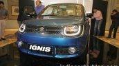 Maruti Ignis front unveiled