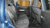 Maruti Ignis rear seat unveiled