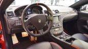 Maserati GranTurismo MC Stradale Centennial Edition interior at 2016 Bologna Motor Show