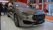 Maserati Levante front three quarters at 2016 Bologna Motor Show