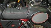 Moto Guzzi V7 II Racer seat at Thai Motor Expo.