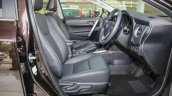 New Toyota Corolla Altis 1.8G (facelift) front seats