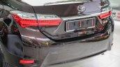 New Toyota Corolla Altis 1.8G (facelift) rear fascia