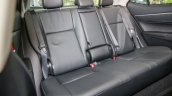 New Toyota Corolla Altis 1.8G (facelift) rear seats